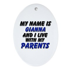 my name is gianna and I live with my parents Ornam