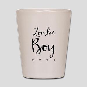 Zombie Boy Shot Glass