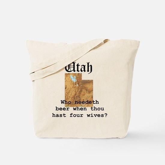 Unique Polygamy Tote Bag