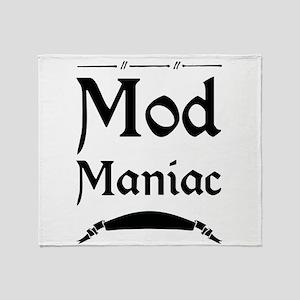 Mod Maniac Throw Blanket