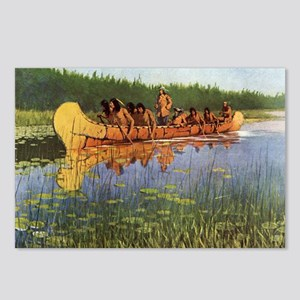 Great Explorers by Remington Postcards (Package of