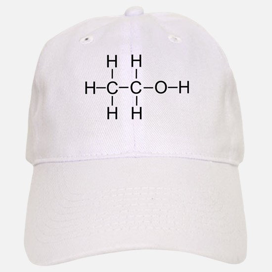 Alcohol - Chemical Formula Baseball Baseball Cap