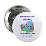 """Recreation Therapy 2.25"""" Button (10 pack)"""