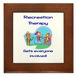 Recreation Therapy Framed Tile