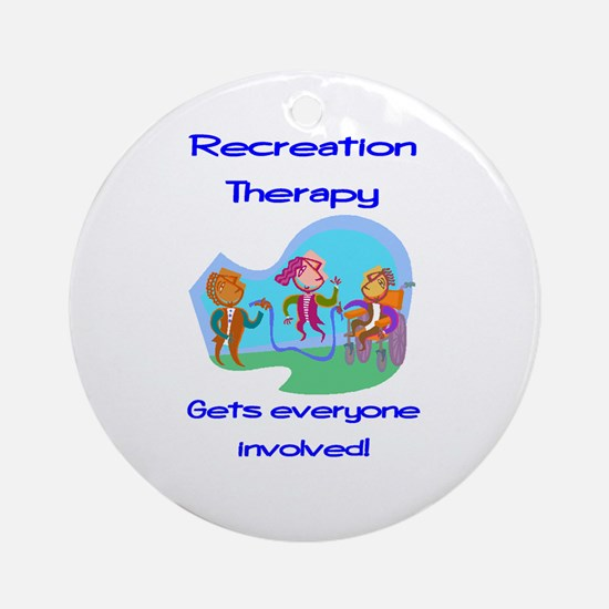 Recreation Therapy Ornament (Round)