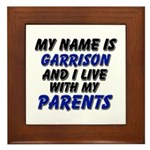 my name is garrison and I live with my parents Fra