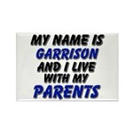 my name is garrison and I live with my parents Rec
