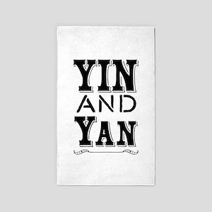 Yin and Yan Area Rug