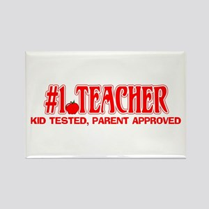 Kid tested, Parent Approved Rectangle Magnet