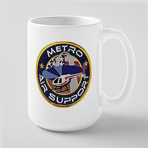 St Louis PD Air Suppor Large Mug