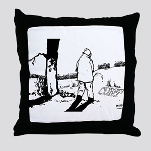 Cunt Throw Pillow
