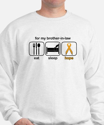 Brother-in-law ESHope Leukemia Sweatshirt