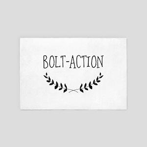 Bolt-action 4' x 6' Rug