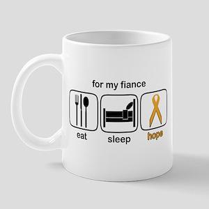Fiance ESHope Leukemia Mug