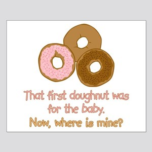 Doughnuts For Baby Small Poster