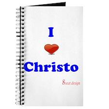 I love Christo Journal