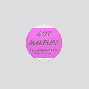 Got MakeUp? Mini Button