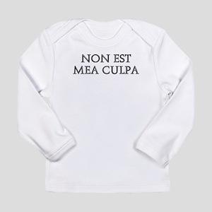 NON EST MEA CULPA Long Sleeve T-Shirt