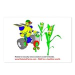 Farm Robot Postcards (Package of 8)