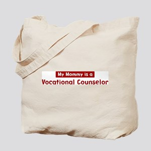 Mom is a Vocational Counselor Tote Bag