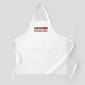 Mom is a Stockbroker BBQ Apron