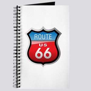 Route 66 Sign Journal