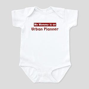 Mom is a Urban Planner Infant Bodysuit