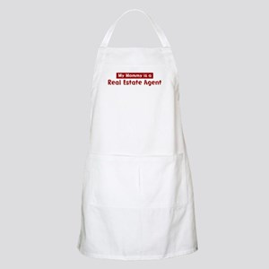 Mom is a Real Estate Agent BBQ Apron