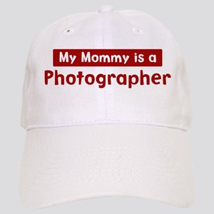 Mom is a Photographer Cap