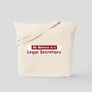 Mom is a Legal Secretary Tote Bag