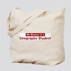 Mom is a Geography Student Tote Bag