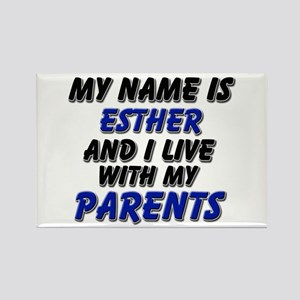 my name is esther and I live with my parents Recta