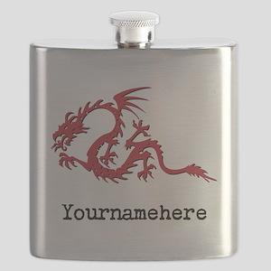 Dragon Tattoo Flask