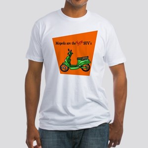 Moped's are the NEW SUV's Fitted T-Shirt