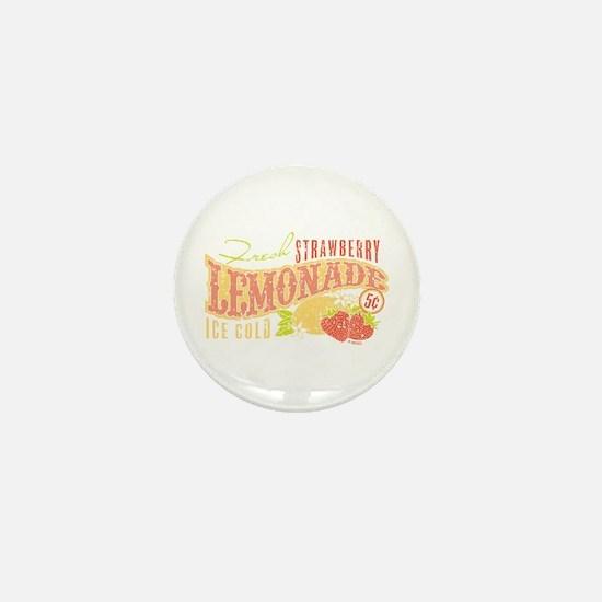 Strawberry Lemonade Mini Button