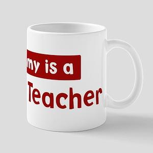 Mom is a Business Teacher Mug
