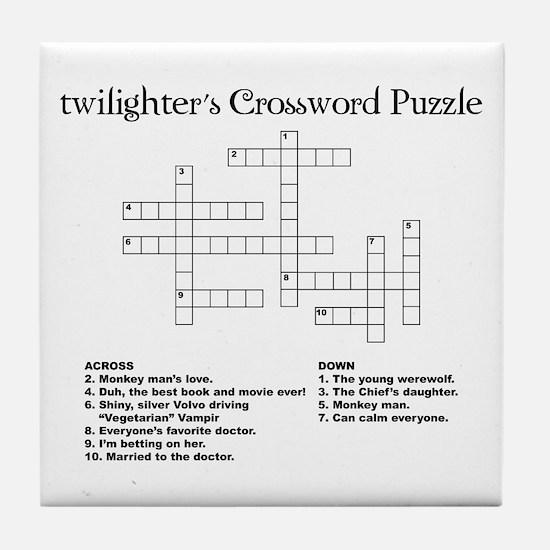 Twilight Puzzle Tile Coaster