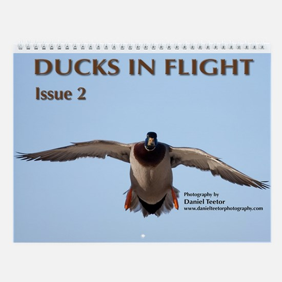 Ducks in Flight, Vol. 2 Wall Calendar