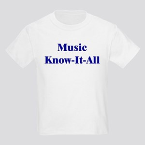 Music Know-It-All Kids T-Shirt