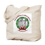Dreaming of a White Bunny Tote Bag