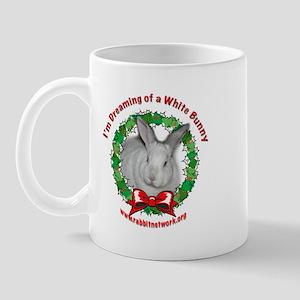Dreaming of a White Bunny Mug