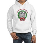 Dreaming of a White Bunny Hooded Sweatshirt