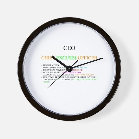 Funny Ceo Wall Clock