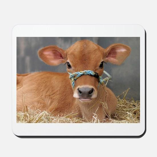 Cute Jersey Calf Mousepad
