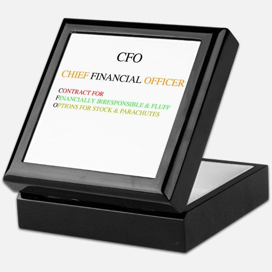 Ceo Keepsake Box