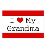 I Heart My Grandma Postcards (Package of 8)