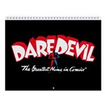 Classic Dare Devil 2018 12-Month Wall Calendar