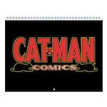 Classic Cat-Man 2018 12-Month Wall Calendar