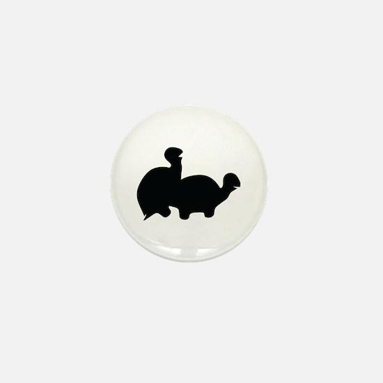 turtle sex icon Mini Button