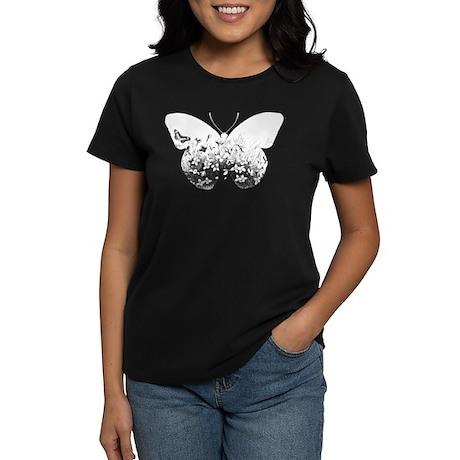 Escher Butterfly Women's Dark T-Shirt